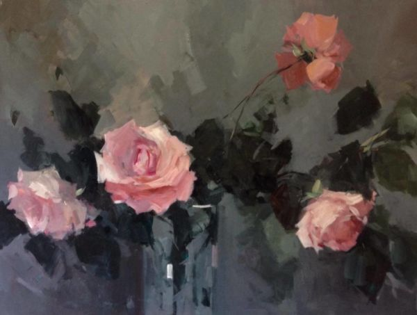 Romance. Acrylic on canvas, 60 x 80 cm