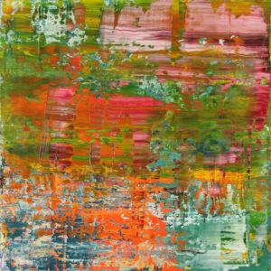 Sierra Gorda. Oil on canvas, 90 x 90 cm. SOLD