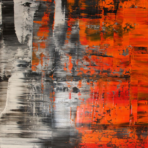 Agent Orange. Oil on canvas, 90 x 90 cm. SOLD