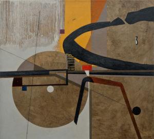 Inner Mechaniscs of Tensive Expectation. Oil on canvas, 110 x 120 cm. 2013