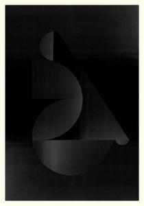 Abstract Composition M256. Digital artwork, 70 x 100 cm. Unique print