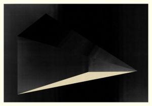 Abstract Composition M258. Digital artwork, 70 x 100 cm. Unique print