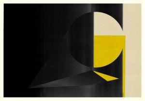 Abstract Composition M249. Digital artwork, 100 x 70 cm. Unique print