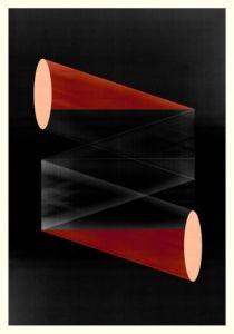 Abstract Composition M287. Digital artwork, 70 x 100 cm
