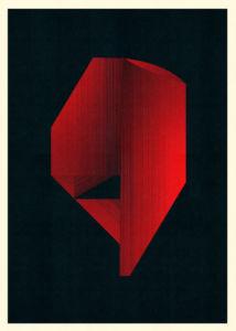 Abstract Composition M200. Digital Artwork, 60 x 84 cm