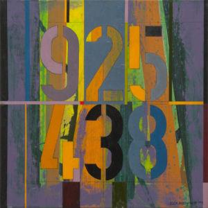 Box 925438. Oil on canvas, 46 x 46 cm. 2014