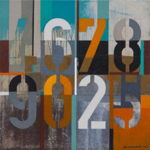Box 46789025. Oil on canvas, 46 x 46 cm. 2014