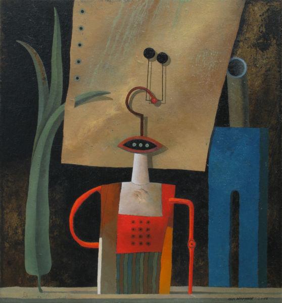 Prototype 1. Oil on canvas, 60 x 55 cm, 2010. SOLD