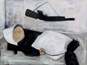 Fear. Oil on canvas, 60 x 80 cm