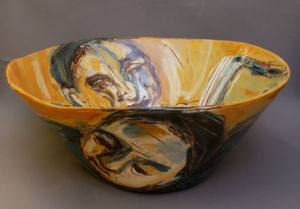 Reader. Large bowl. SOLD