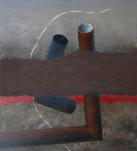 Outlook. Oil on canvas, 120 x 110 cm, 2013