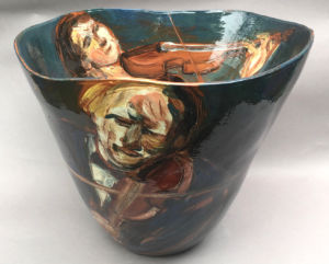 Quartet. Large vessel. SOLD