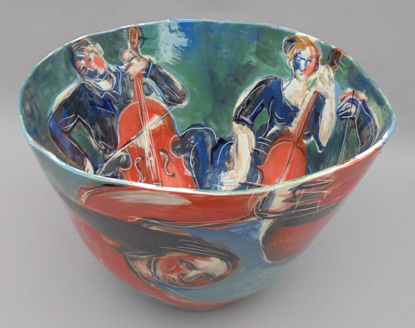 Cellophony. Large vessel. SOLD