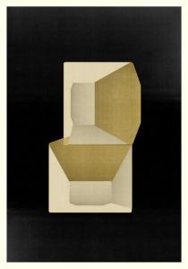 Abstract Composition M291. Digital artwork, 70 x 100 cm. Unique print