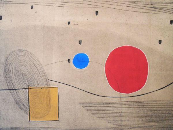Equilibrium. Colagraph, monoprint