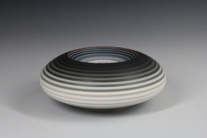 OPject. Spherical Form. Earthenware, D20 cm x H7.9 cm. SOLD