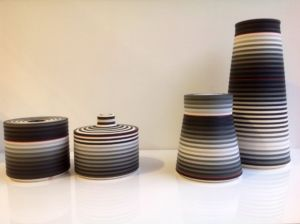 OPjects. Reversible Lidded Box and Cylindrical Forms. SOLD