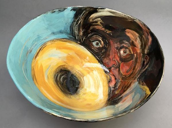 Jazz. Large Bowl. SOLD