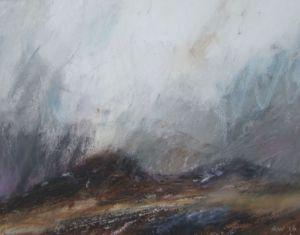 Landscape Oil Sketch No 27. 27 x 21 cm. SOLD