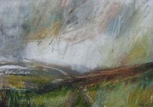 Landscape Oil Sketch No 38. 23 x 16 cm. SOLD