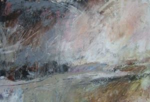 Landscape Oil Sketch No 42. 23 cm x 17 cm. SOLD