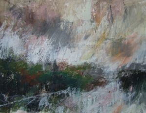 Landscape Oil Sketch No 49. 32 cm x 24xcm