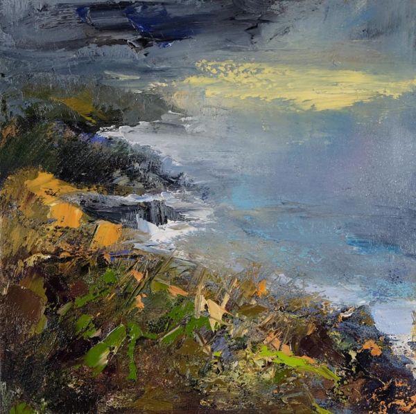 Light After Rain. Oil on canvas, 50 x 50 cm. 2019