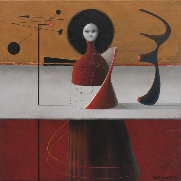 Magic. Oil on canvas, 46 x 46 cm. SOLD