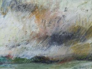 Landscape sketch No 54. 24 x 18 cm