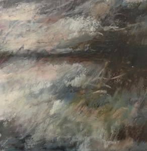Landscape sketch No 76. 27 x 27 cm