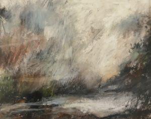 Landscape sketch No 89. 31 x 24 cm
