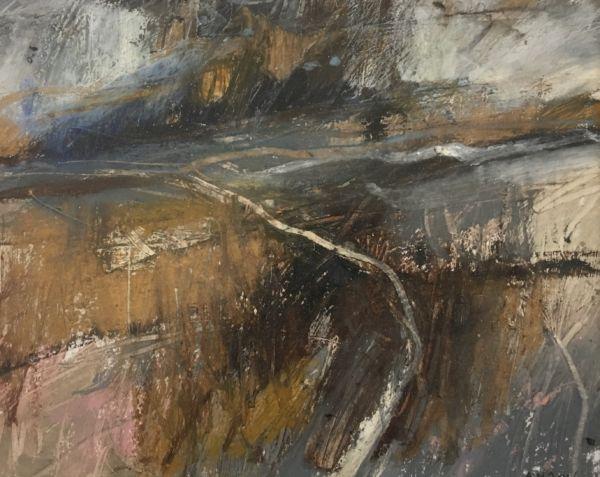 Landscape sketch No 65. 18 x 23 cm