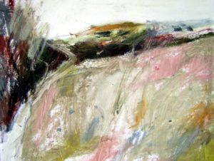 Landscape Oil Sketch 3. 36 x 36 cm. SOLD