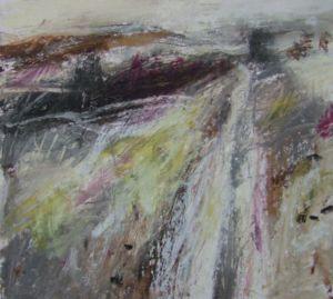 Landscape Oil Sketch No 4. 36 x 36 cm. SOLD