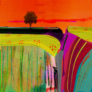 In the Valley. Digital artwork. SOLD