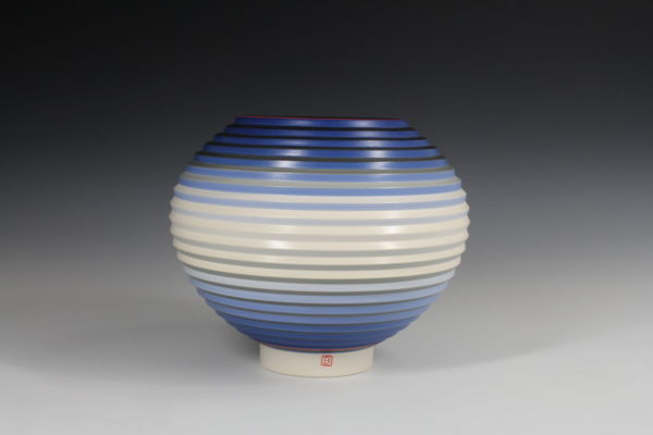 OPject. Spherical Form. Earthenware, D20.3 cm x H17.8 cm. 2017. SOLD
