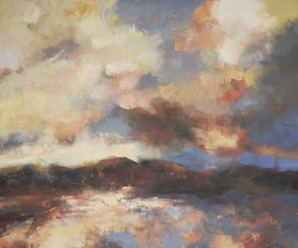 Ambrosia. Oil on canvas, 100 x 120 cm