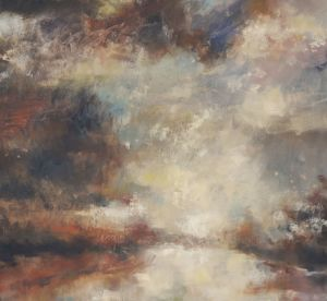 Eventide. Oil on canvas, 90 x 100 cm. SOLD