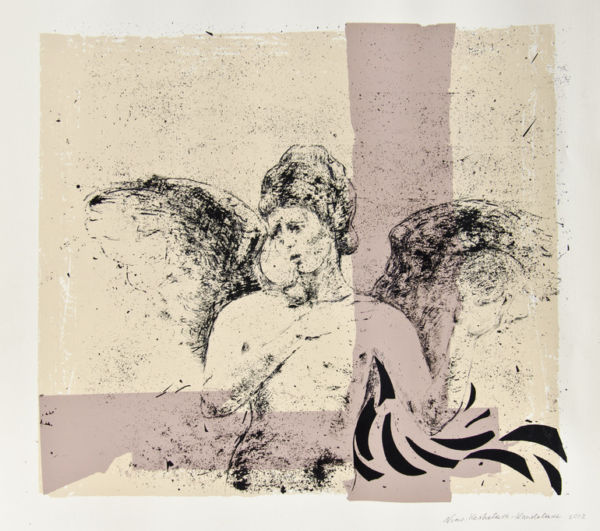 Angel. Screen print. SOLD