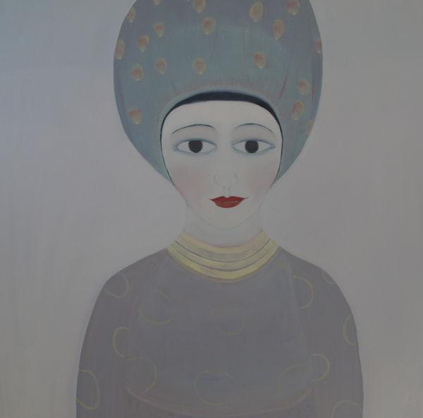 Eva. Oil on canvas, 64 x 64 cm. 2015