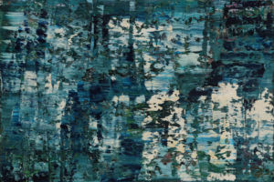 Loch Cluanie. Oil on canvas, 100 x 150 x 4 cm. SOLD